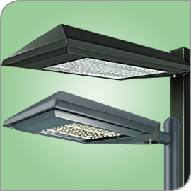 LED Area Lights LSI AeroMax XASU XAMU Encore LED Lighting NJ